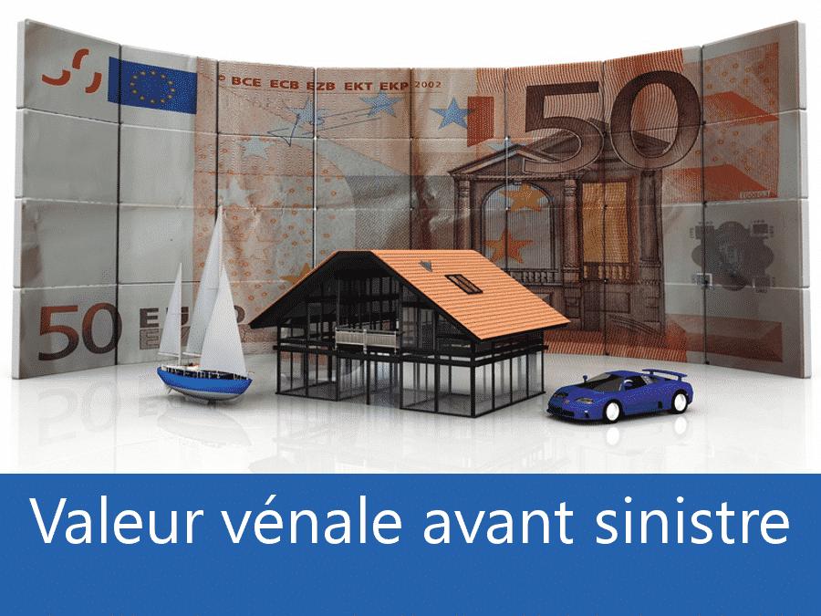 Valeur vénal avant sinistre Metz, valeur des biens assurance 57, expert valeur vénale Moselle,